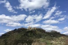Blick zur Starkenburg Heppenheim