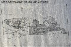 Rekonstruktion der Villa Rustica