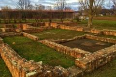 Grundrisse der Villa Rustica