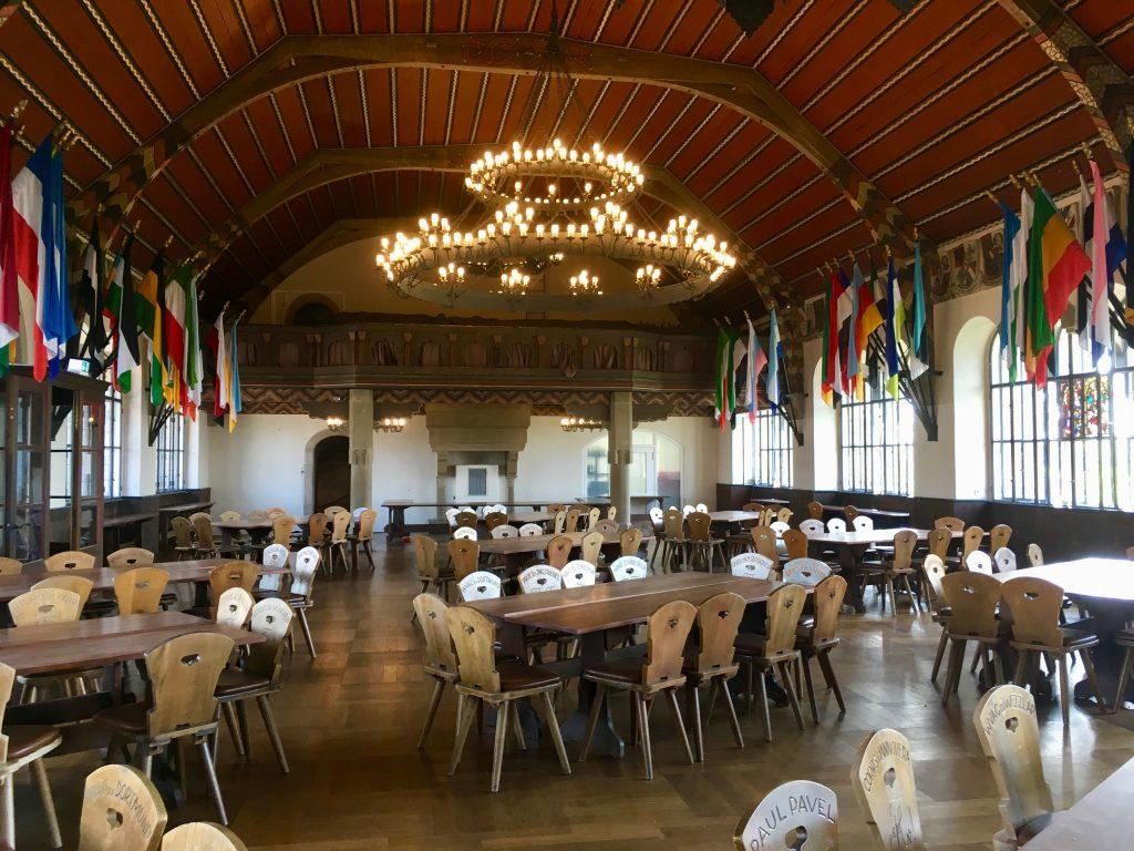 Festsaal in der Wachenburg Weinheim