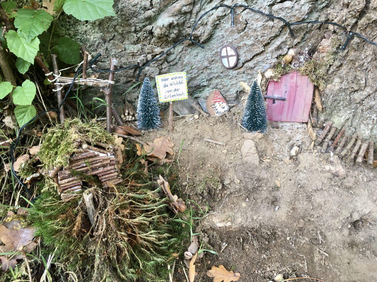 Wichtelwohnung im Odenwald